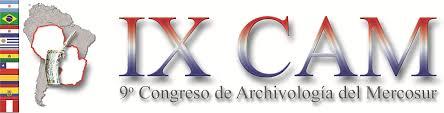 logo noveno congreso de archivología del mercosur