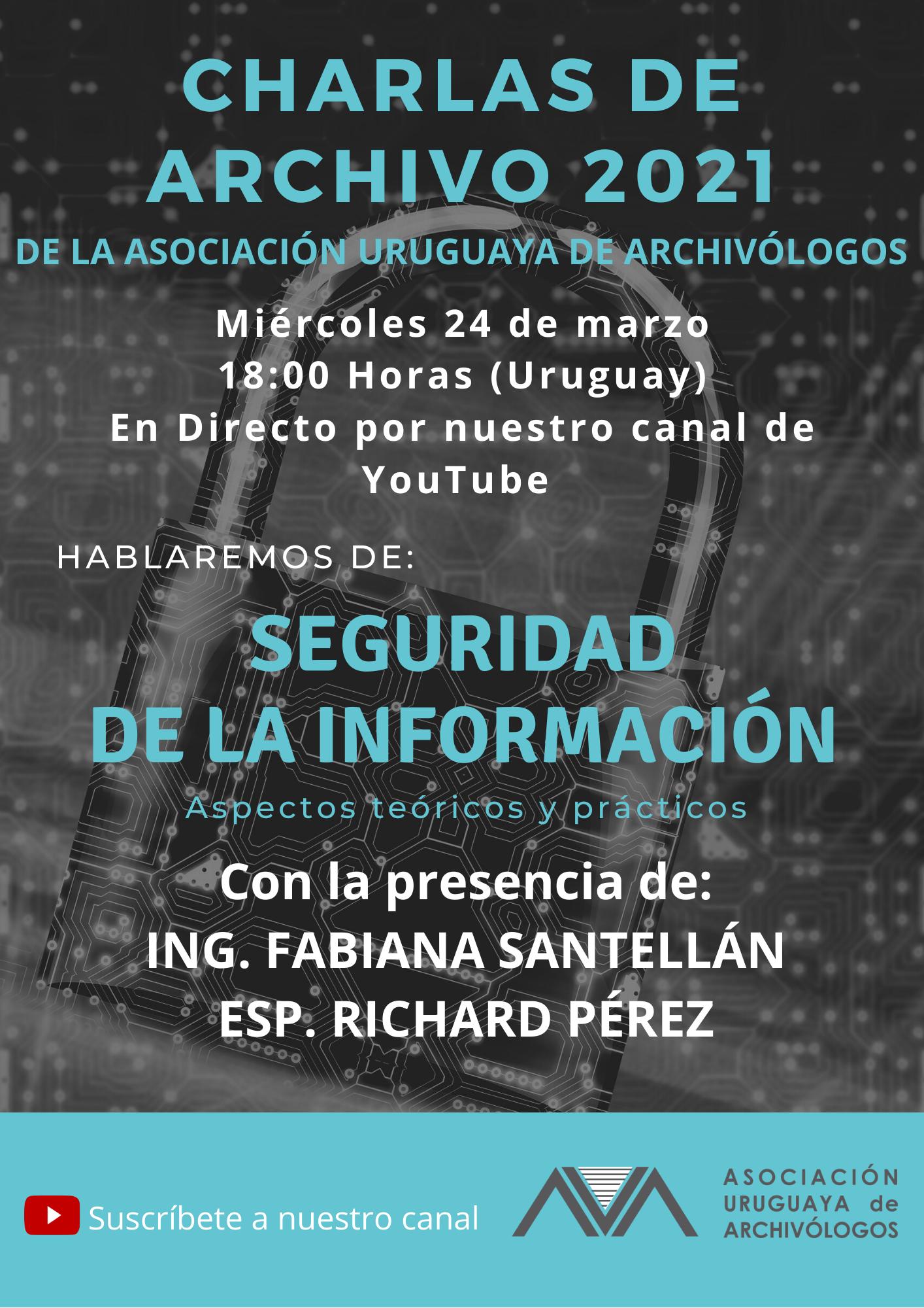 Charlas de Archivo - Seguridad de la Información