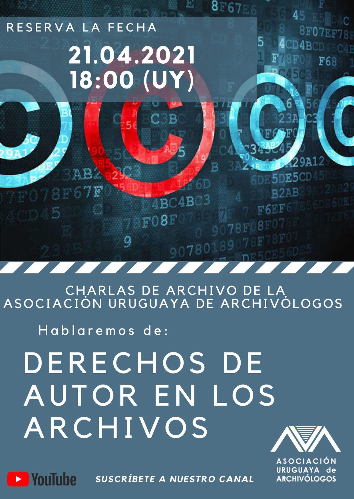 Charlas de Archivo - Derechos de Autor en losArchivos