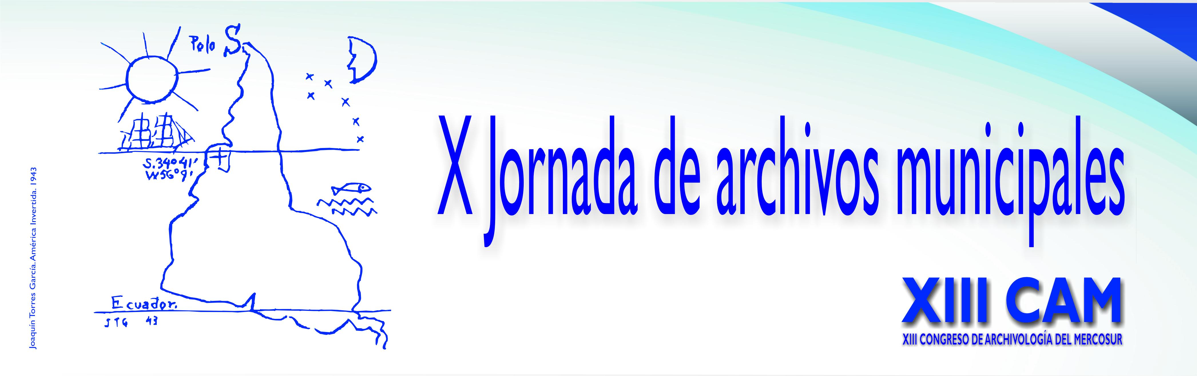 X Jornada de archivos municipales
