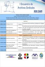 Programa Encuentro de Archivos Sindicales