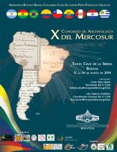 afiche décimo congreso de archivología del MERCOSUR