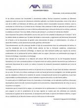 Declaración AUA